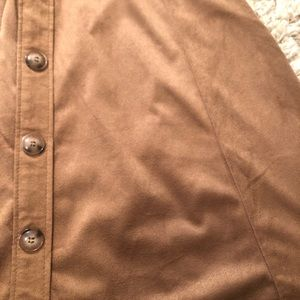 Charlotte Russe Skirts - NWT Charlotte Russe Faux Suede Skirt